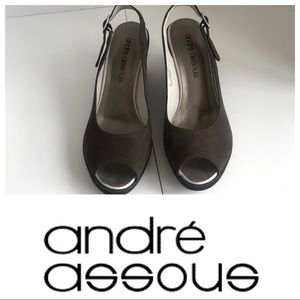 Andre Assous Peep Toe Jodi-2 espadrille